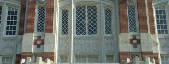 Carpenter Hall is one of University of Oklahoma.