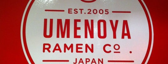 Umenoya is one of Southbay Eats.