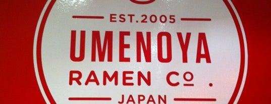 Umenoya is one of L.A. Ramen.