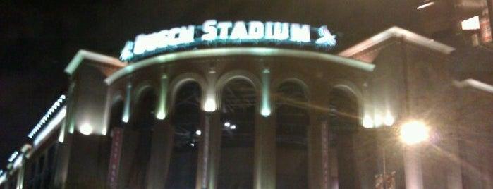 Busch Stadium is one of Stadiums Visited.