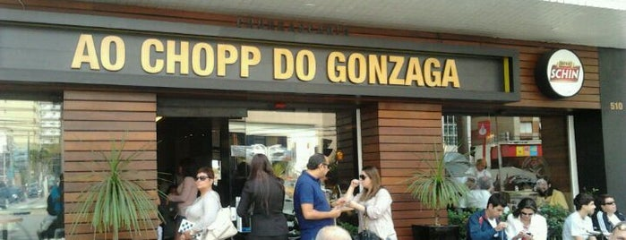 Ao Chopp do Gonzaga is one of Bares em Santos.