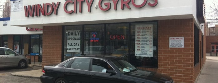 Windy City Gyros is one of Be a Local in Lakeview.