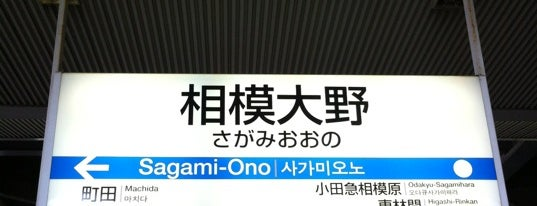 相模大野駅 (OH28) is one of 大山保存.