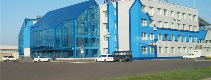 Yemelyanovo International Airport (KJA) is one of Airports - worldwide.