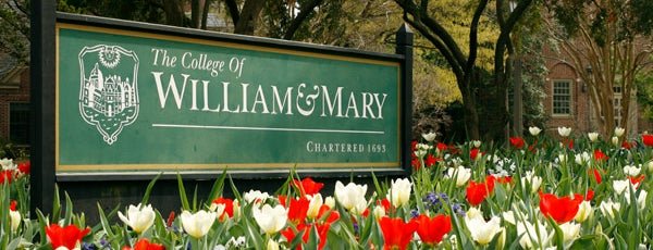 William & Mary is one of Tempat yang Disukai Bianca.