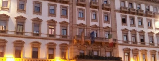 The Westin Excelsior is one of Florence See.