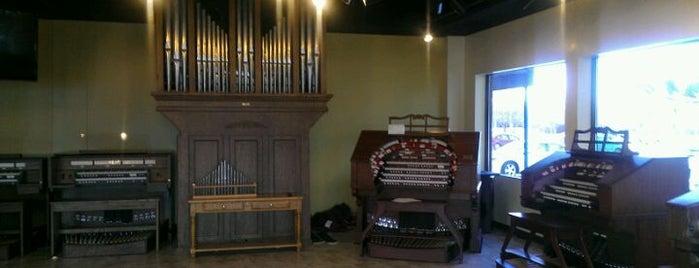 Allen Organ Locations (Chicagoland)