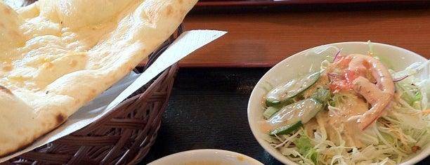 天竺薬膳 北印度料理 みらん is one of สถานที่ที่ Shigeo ถูกใจ.