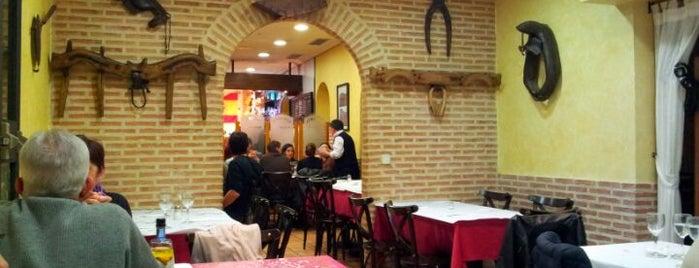 Mesón Los Aros II is one of Tapas por Madrid.