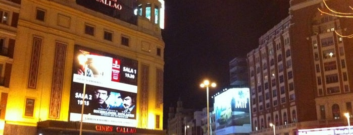 Plaza del Callao is one of Madriz.