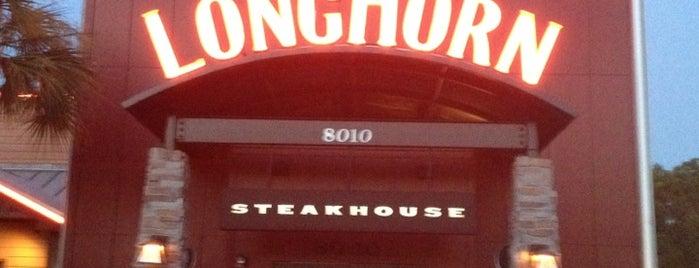 LongHorn Steakhouse is one of Lugares guardados de Dan.