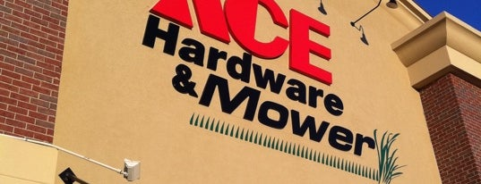 S&S Ace Hdw Mower-Brasltn is one of Super's Liked Places.