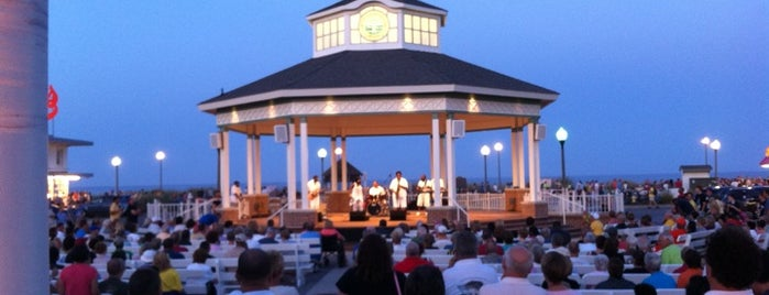 Rehoboth Beach Bandstand is one of Delaware Fun.