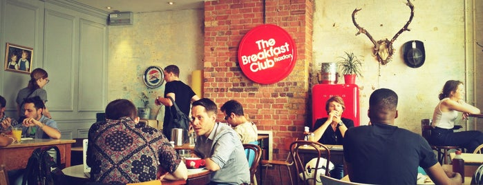 The Breakfast Club is one of Londra.