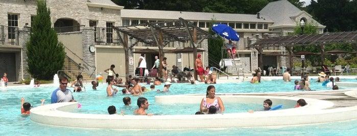 Piedmont Park Aquatic Center is one of Orte, die Michelle gefallen.