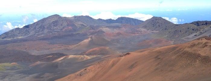 Haleakalā National Park is one of American National Parks.