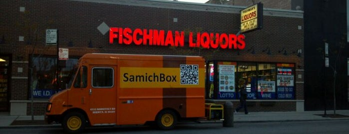 Fischman Liquors & Tavern is one of chicago's best bars.