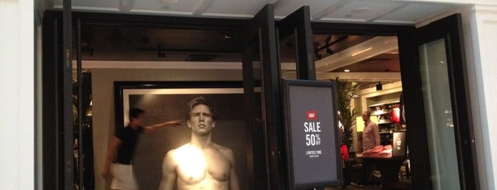 Abercrombie & Fitch is one of Toronto.