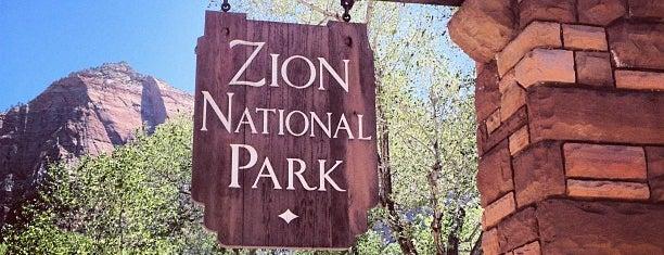Parque Nacional Zión is one of National Parks.