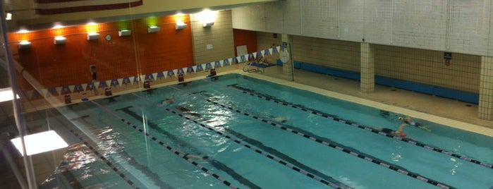 NYU Jerome S. Coles Sports & Recreation Center is one of #FitBy4sqDay Tips.