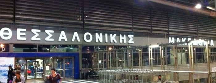 Thessaloniki International Airport Macedonia (SKG) is one of Part 1~International Airports....