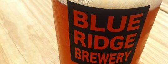 Blue Ridge Brewery is one of Georgia Mountains.