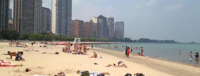 Oak Street Beach is one of C 님이 좋아한 장소.