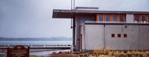 Frank Lloyd Wright's Fontana Boathouse is one of Frank Lloyd Wright.