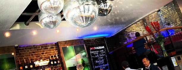 Kazbar is one of BarChick's Bars with Benefits.