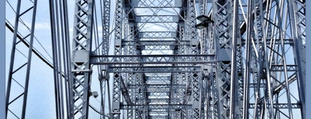 Purple People Bridge is one of Cincinnati Riverfront.