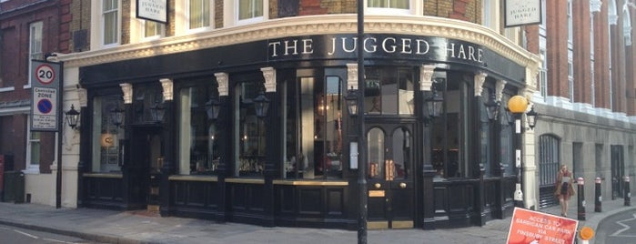 The Jugged Hare is one of London pubs.