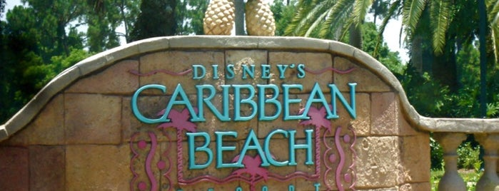 Disney's Caribbean Beach Resort is one of Aljon : понравившиеся места.