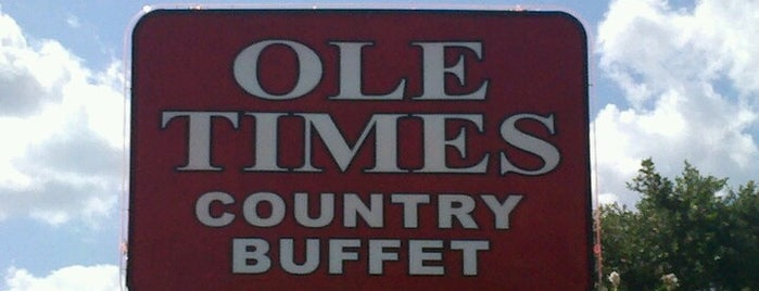 Ole Times Country Buffet is one of Date night adventures!.