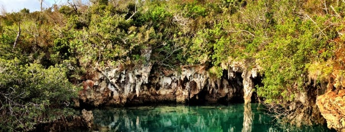 Blue Hole Park is one of Bermuda To-Do List.