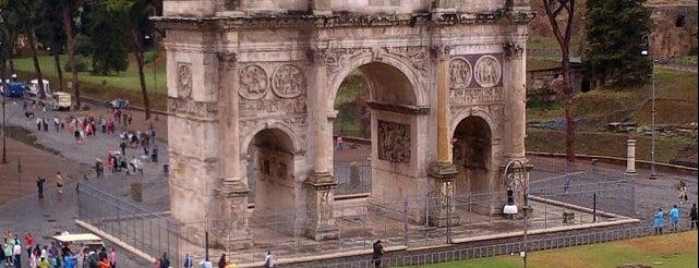 Arco de Constantino is one of Roma.