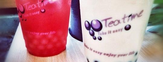 Bubble Tea is one of Tempat yang Disimpan b.
