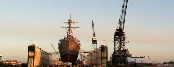 BAE Systems Norfolk Ship Repair is one of Lugares favoritos de Dawn.