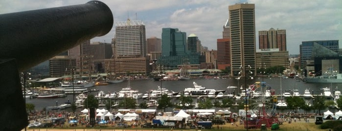 Federal Hill Park is one of Baltimore Check-In 2012.