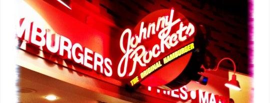 Johnny Rockets is one of Lugares favoritos de Lindsaye.