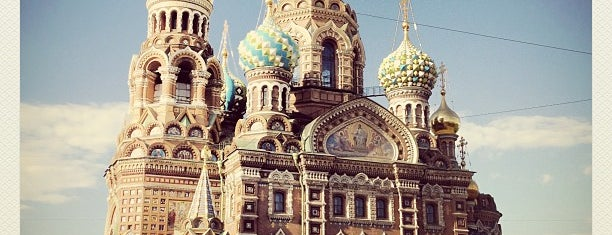Church of the Savior on the Spilled Blood is one of Sight-Seeing in SPB.