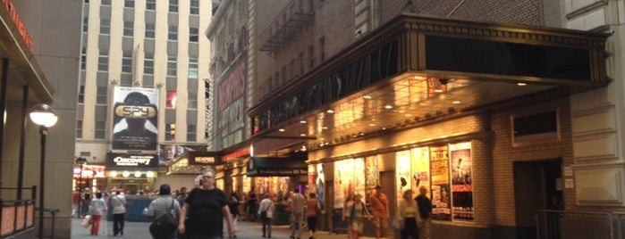 Shubert Alley is one of NYC Neighborhoods.