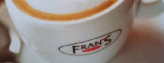 Fran's Café is one of Locais curtidos por Fabiana.
