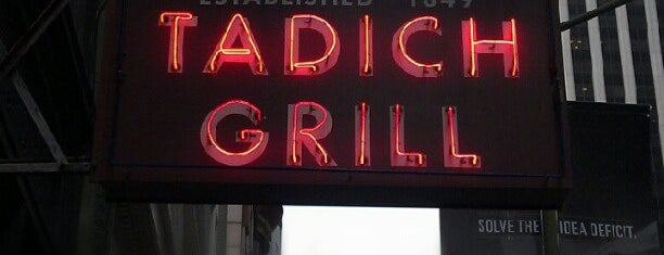 Tadich Grill is one of San Fran.