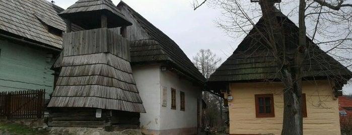 Vlkolínec is one of สถานที่ที่บันทึกไว้ของ Peter.