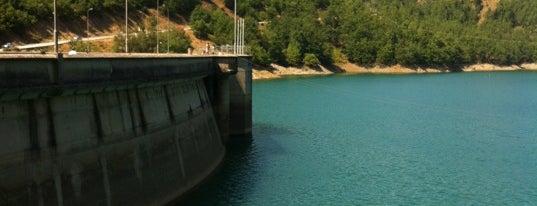 Plastiras Dam is one of สถานที่ที่ Vangelis ถูกใจ.