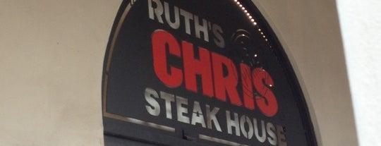 Ruth's Chris Steak House is one of Locais curtidos por Lillian.