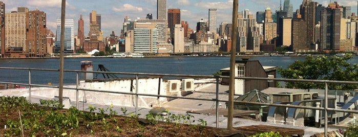Eagle Street Rooftop Farms is one of Greenpoint Neighborhoodie.