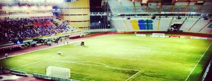 CTE Cachamay is one of Estadios.