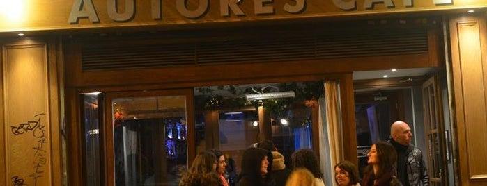 Autores Café is one of Para volver.