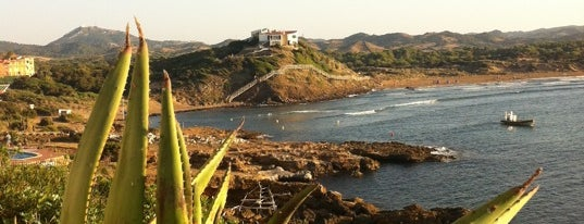 Cala Tirant is one of Top Menorca.